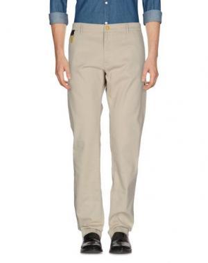 Повседневные брюки C.P. COMPANY. Цвет: светло-серый
