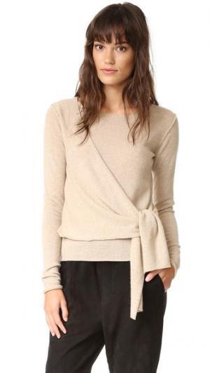 Кашемировый свитер Seine Brochu Walker. Цвет: серый