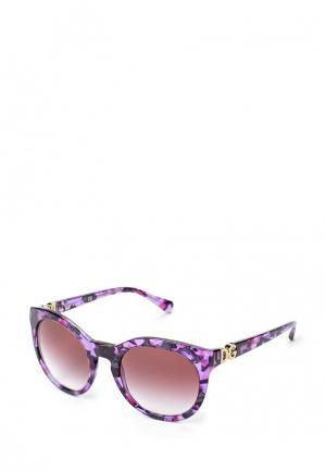 Очки солнцезащитные Dolce&Gabbana. Цвет: фиолетовый