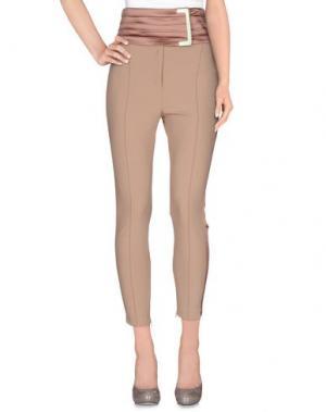 Повседневные брюки ELISABETTA FRANCHI GOLD. Цвет: телесный