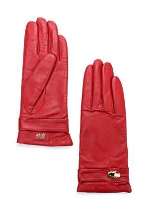 Перчатки Cavalli Class. Цвет: красный