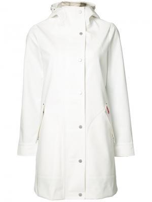 Пальто с капюшоном Core Hunter. Цвет: белый