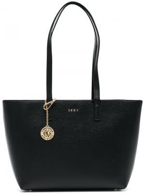 Средняя сумка-шоппер Donna Karan. Цвет: чёрный