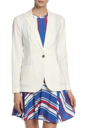 Пиджак Tommy Hilfiger. Цвет: белый