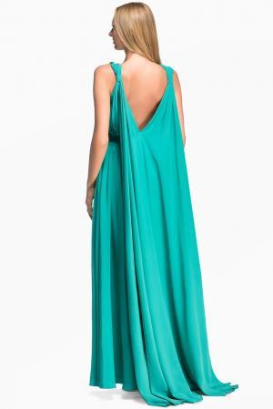 Платье из шелка 125743 Lolita Shonidi. Цвет: зеленый