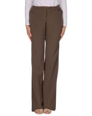 Повседневные брюки MAESTA. Цвет: хаки