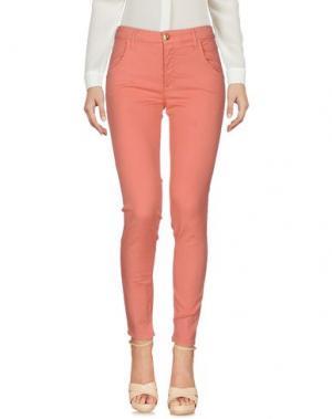 Повседневные брюки CYCLE. Цвет: лососево-розовый