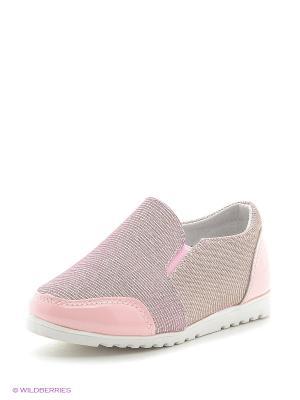 Кроссовки Vitacci. Цвет: розовый