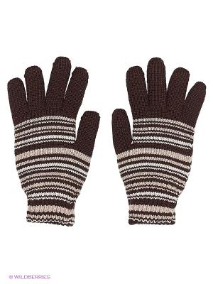 Перчатки Чудо-Кроха. Цвет: темно-коричневый