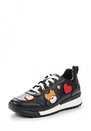 Кроссовки Love Moschino. Цвет: черный