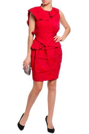Платье Nina Ricci. Цвет: красный