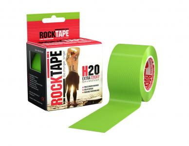 Кинезио-тейп  5 см х м, зеленый Rocktape