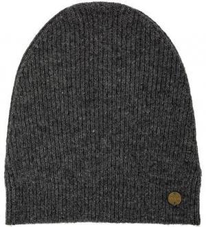 Серая вязаная шапка с высоким содержанием шерсти Scotch&Soda. Цвет: серый
