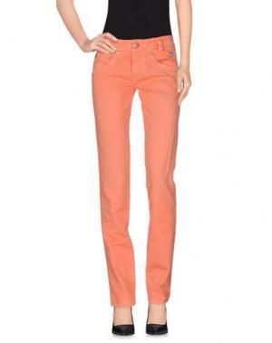 Повседневные брюки ROŸ ROGER'S. Цвет: оранжевый