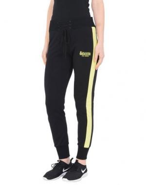 Повседневные брюки BOXEUR DES RUES. Цвет: черный