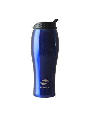 Термокружка  0,4 литра Stinger. Цвет: синий