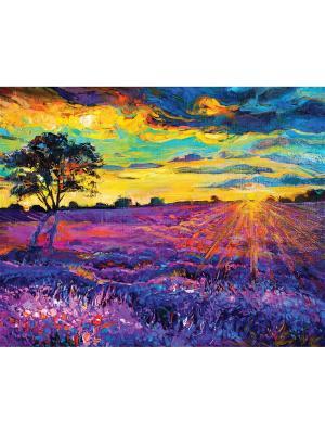Art Холст Игра цвета 40х50 см DECORETTO. Цвет: розовый, синий, сиреневый