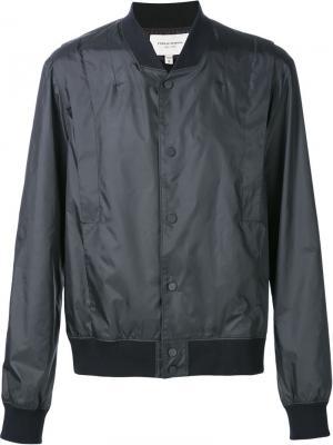 Куртка-бомбер с панельным дизайном Public School. Цвет: чёрный