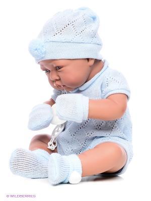 Кукла Тони мальчик Antonio Juan. Цвет: голубой
