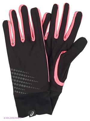Перчатки BASIC PERFORMANCE GLOVES ASICS. Цвет: розовый