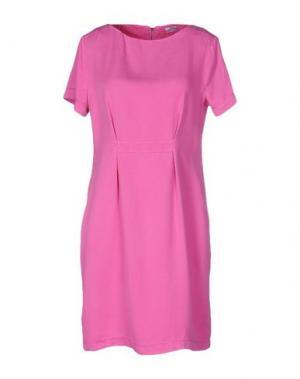 Короткое платье GRAN SASSO. Цвет: фуксия
