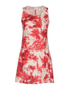 Короткое платье CONTE OF FLORENCE. Цвет: красный