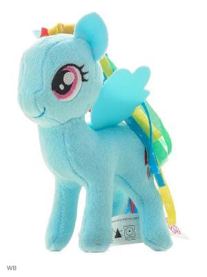 Маленькие плюшевые пони My Little Pony. Цвет: голубой