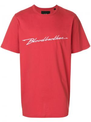 Футболка Performance Blood Brother. Цвет: красный