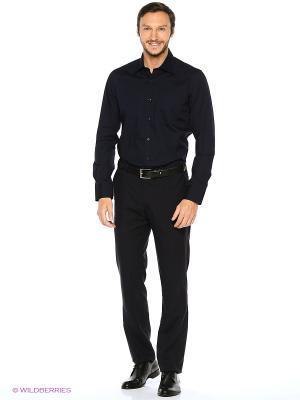 Рубашка KARFLORENS. Цвет: темно-синий