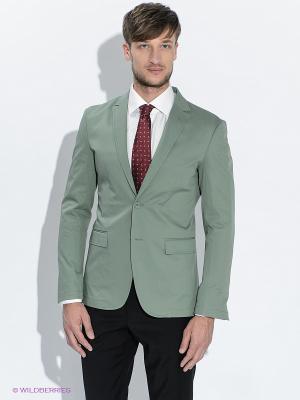 Пиджак BAZIONI. Цвет: зеленый
