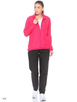Костюм спортивный  Clean Woven Suit op W Puma. Цвет: розовый