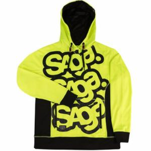 Sale TRIPLE STACK RIDING PULLOVER Saga. Цвет: flux yellow