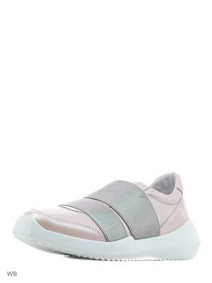 Кроссовки HCS. Цвет: розовый, серебристый
