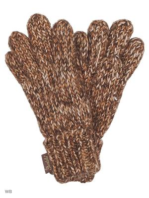 Перчатки Sterntaler. Цвет: коричневый