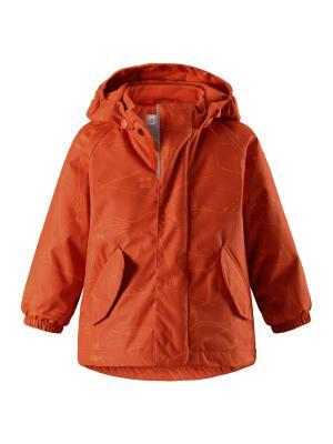 Куртка Reima. Цвет: оранжевый