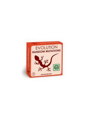 Настольная игра Эволюция. Случайные мутации. (на английском языке) Правильные игры. Цвет: красный