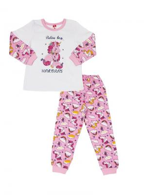 Пижама Cherubino. Цвет: розовый