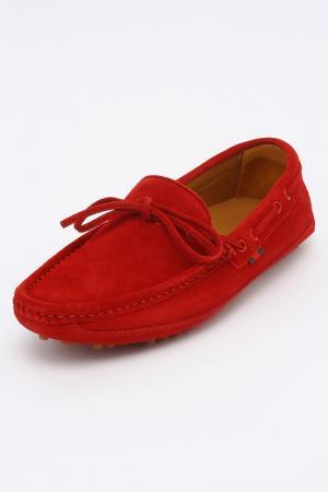 Мокасины Gucci Kids. Цвет: красный