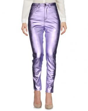Повседневные брюки LEITMOTIV. Цвет: сиреневый