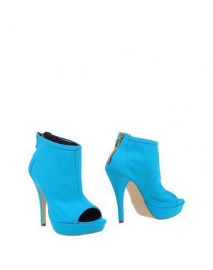 Полусапоги и высокие ботинки LA FILLE des FLEURS. Цвет: бирюзовый