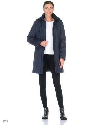 Пальто TUULIKKI Maritta. Цвет: синий