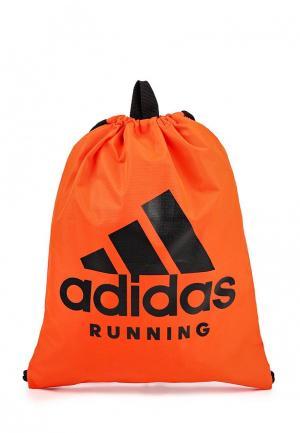 Мешок adidas Performance. Цвет: красный