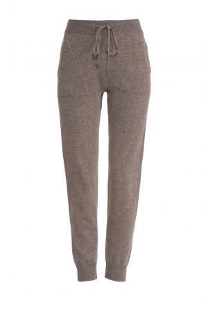 Трикотажные брюки 154452 Zhor & Nema. Цвет: коричневый