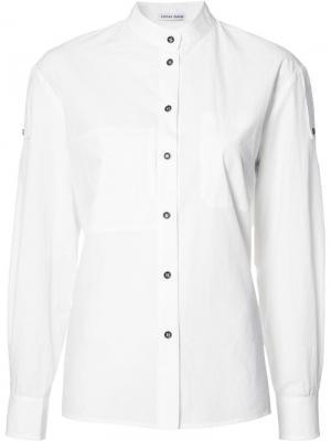 Классическая рубашка Tomas Maier. Цвет: белый