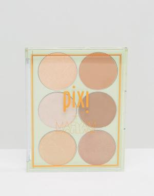 Pixi Палитра для стробинга и бронзирования & Maryam Maquillage. Цвет: мульти