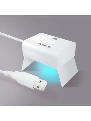 Led lamp (микро) для полимеризации гель-лаков (3 ВАТТ) SOLOMEYA. Цвет: белый