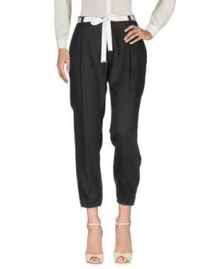 Повседневные брюки CAFèNOIR. Цвет: стальной серый