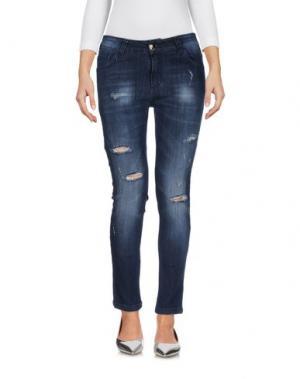 Джинсовые брюки ANIYE BY. Цвет: синий