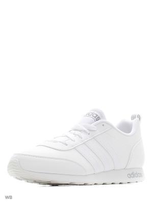 Кроссовки муж. V RUN VS  FTWWHT/FTWWHT/CLONIX Adidas. Цвет: белый