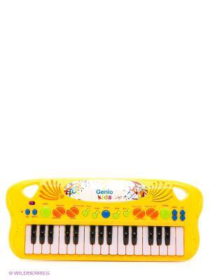 Игрушка музыкальная Синтезатор GENIO KIDS. Цвет: желтый